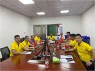 慶中國共產黨成立100周年 ,東莞市緊固件行業協會召開黨史學習專題交流會