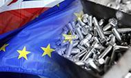 商務部決定對歐盟進口碳鋼緊固件進行反傾銷調查!